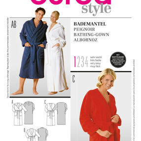 Burda Style Pattern 2653 Bathrobe