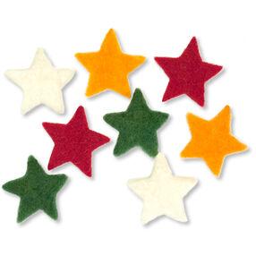 Small Wool Felt Stars_72-08213