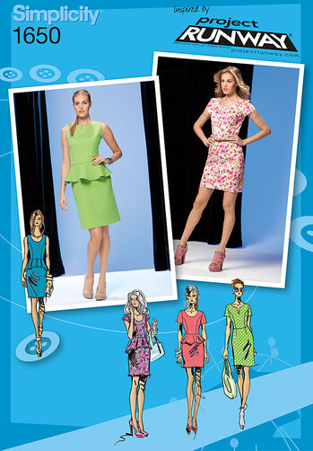 Misses' & Miss Petite Dress Project Runway Collection