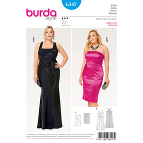 Burda Style Pattern B6547 Women's Strap Dress