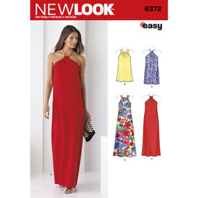 New Look Pattern 6372 Misses' Dresses Each in Two Lengths