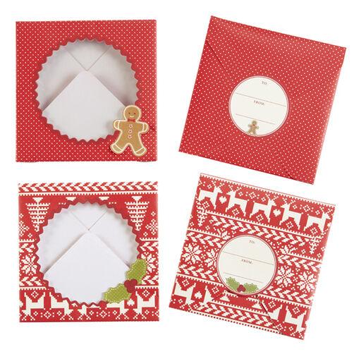 Cottage Christmas Treat Envelopes_48-30132