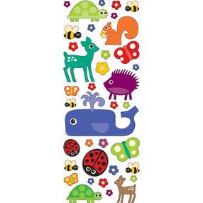 Fun Animals Puffy Stickers_53-90010