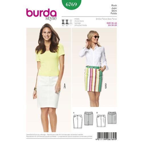 Burda Style Pattern 6769 Skirts