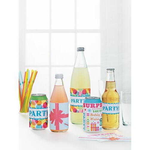 Modern Festive Assorted Beverage Labels_44-20032