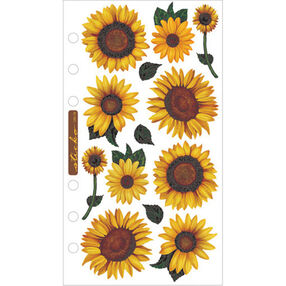 Vellum Stickers - Sunflowers_SPVM76