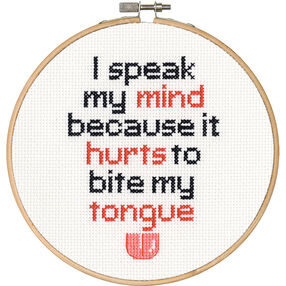 Speak My Mind, Counted Cross Stitch_70-74639