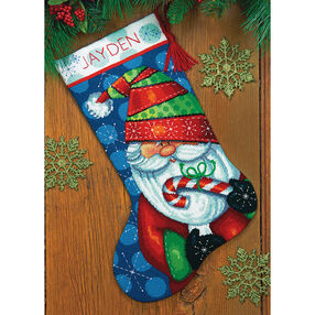 Sweet Santa Stocking, Needlepoint_71-09154