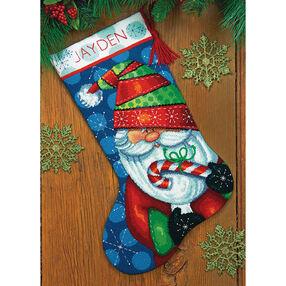 Sweet Santa Stocking, Needlepoint_71-09154