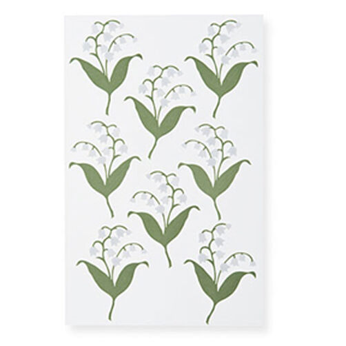 Lily-Of-The-Valley Stickers_M355023