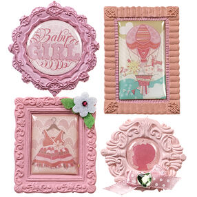 Baby Girl Mini Frame Stickers_50-21603