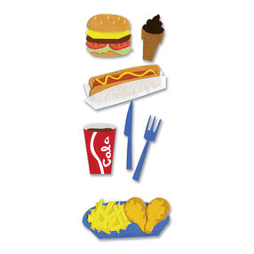 Fast Food 2 Stickers_SPJJ064