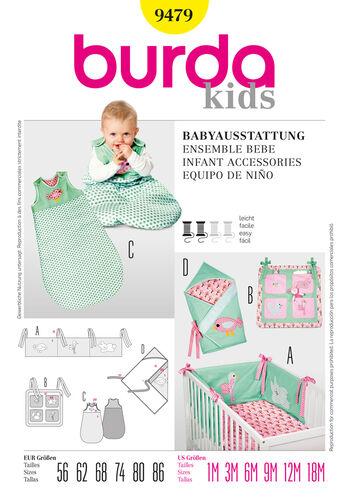 Burda Style Infant Accessories