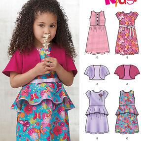 Child's Dress and Knit Bolero