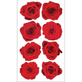 Red Rose Stickers_52-00981