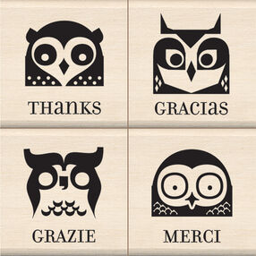 Thanks Wood Stamp Set_60-10128