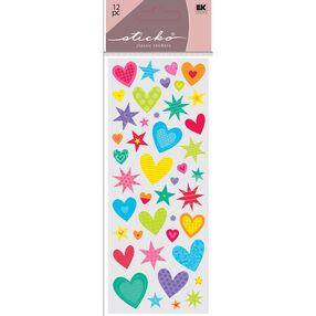 Hearts N Star Stickers_52-30065