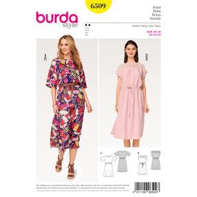 Burda Style Pattern B6509 Misses' Elastic Waist Dress