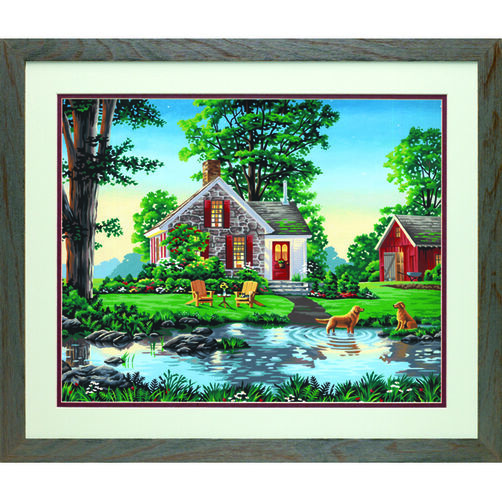 Summer Cottage, Paint by Number_73-91433