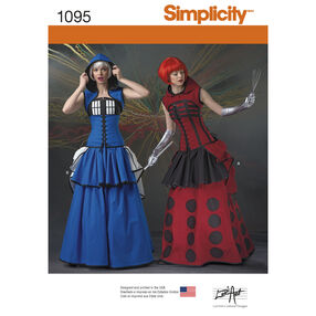 Simplicity Pattern 1095 Misses' Costumes