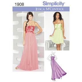 Simplicity Pattern 1908 Misses' Dresses