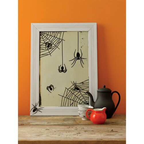 Spiderweb Mirror Cling_44-10061