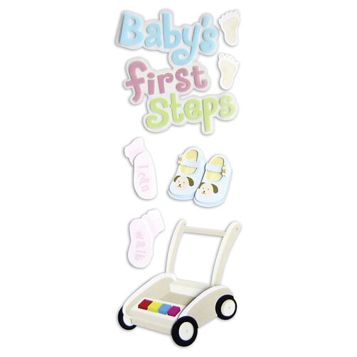 Baby's First Steps Stickers_SPJJ207