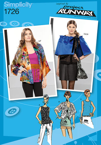 Misses' Tops and Accessories Project Runway