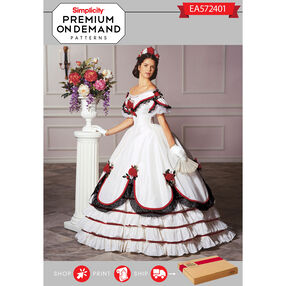 Simplicity Pattern EA572401 Premium Print On Demand Costume Pattern