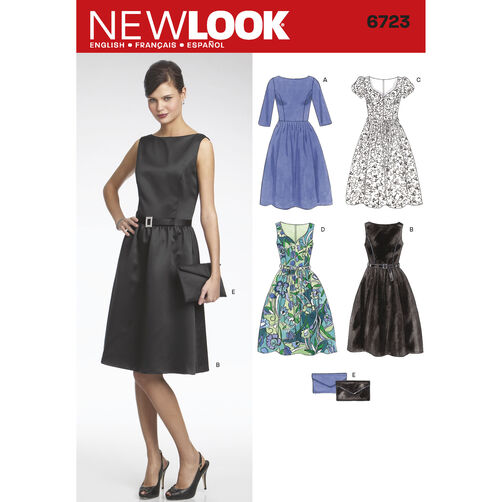 New Look Pattern 6723 Misses' Dresses
