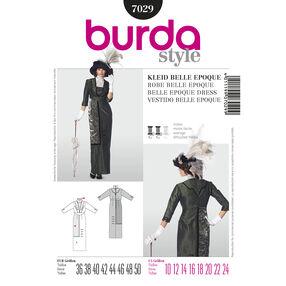 Burda Style Pattern 7029 Historical Belle Epoque Dress