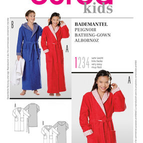 Burda Style, Bathrobe