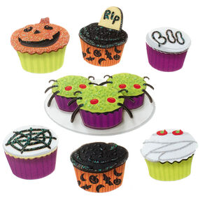Mini Halloween Cupcake Embellishments_50-00597