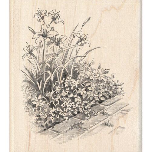 Flowers on Walkway_60-00718