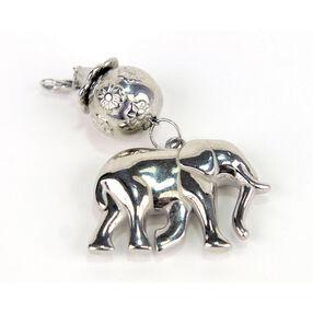 Elephant Stack Scarf Pendant, _56-61148