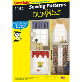 Simplicity Pattern 1152 Window Treatments