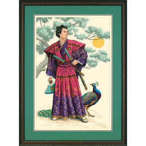 The Mighty Samurai, Counted Cross Stitch_03881