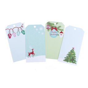 Merry & Bright Gift Tag Notepad_48-30293