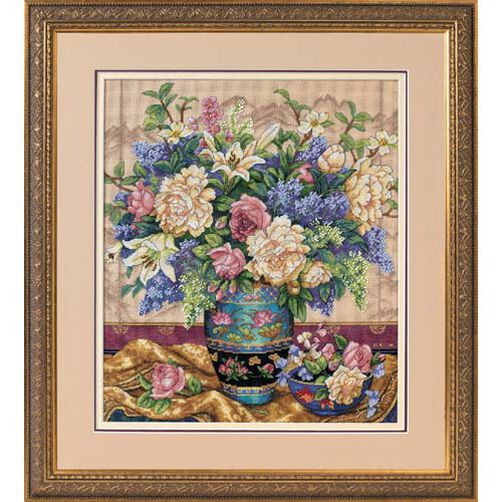 Oriental Splendor, Counted Cross Stitch_35163