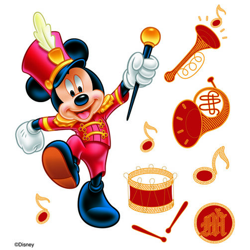 Mickey Parade Dimensional Stickers_DMPS