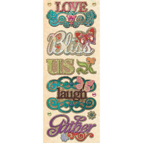 Jubilee Words Adhesive Chipboard_30-388918
