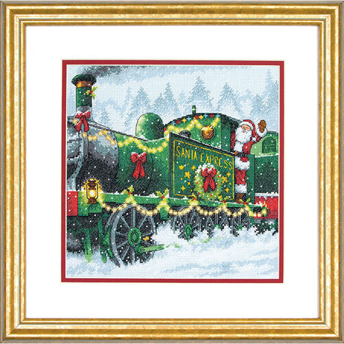 Santa Express in Counted Cross Stitch_70-08918