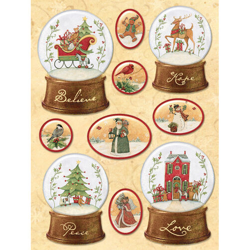 Susan Winget Glad Tidings Snow Globe Stickers_30-595637