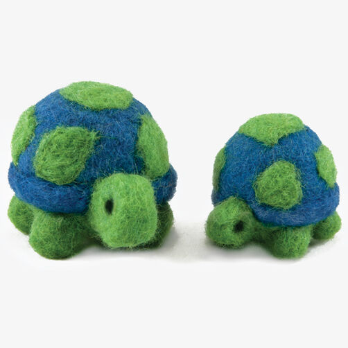 Round & Wooly Turtles, Needle Felting_72-73905
