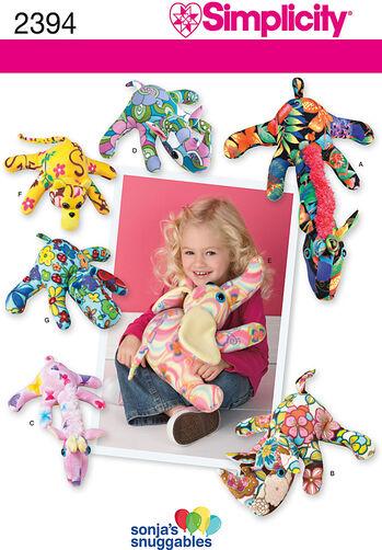 Fleece Animal Crafts