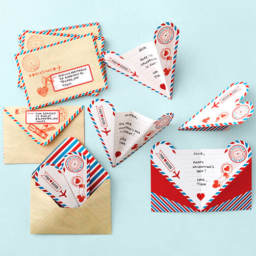 Love Notes Paper Airplane Card Set_48-00068