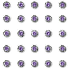 Dual Tone Prizm Amethyst Stickers_50-21456