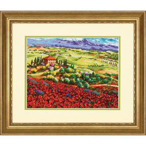 Tuscan Poppies, Needlepoint_71-20084