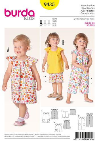 Burda Style Pattern 9435 Baby