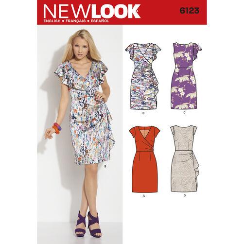 New Look Pattern 6123 Misses' Dress